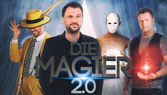 Erleben Sie die neue Show von den Magiern, die so nah und intim wie keine andere Bühnenshow ist. Das sind DIE MAGIER 2.0!